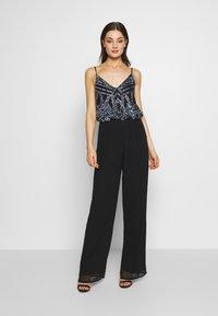 Lace & Beads - AMIE JUMPSUIT - Jumpsuit - black - 0