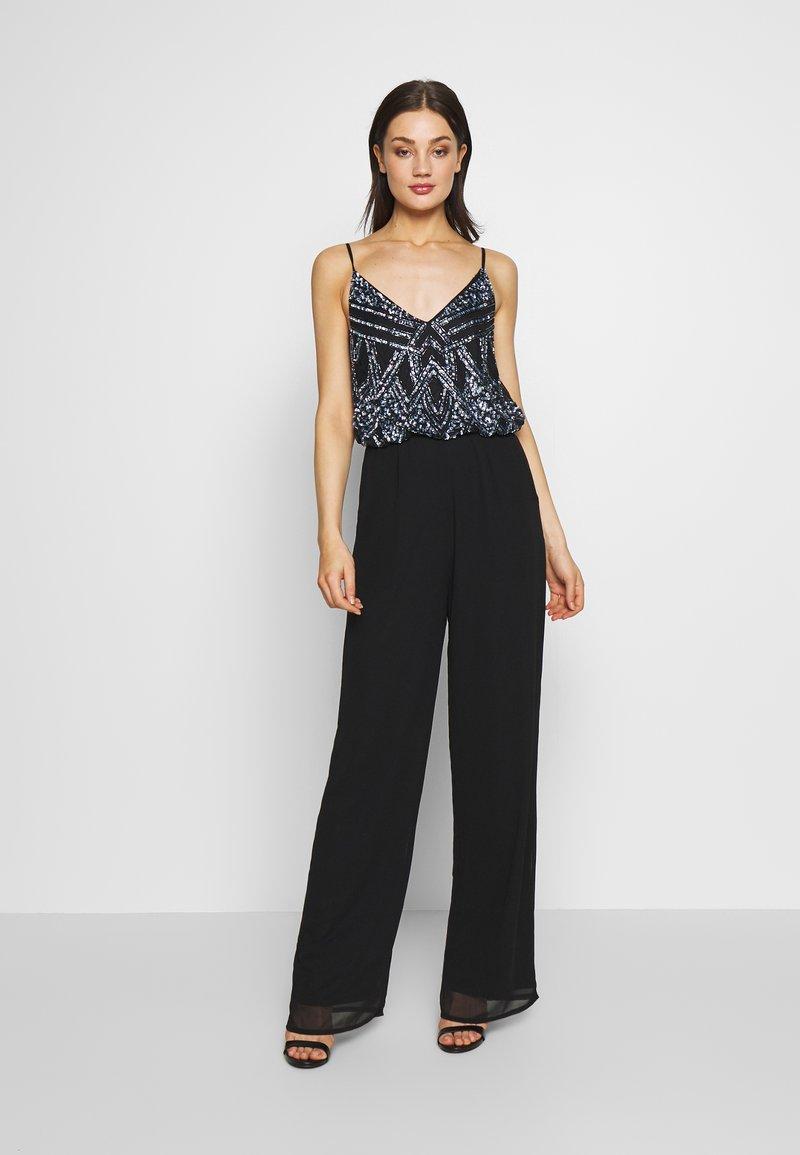 Lace & Beads - AMIE JUMPSUIT - Jumpsuit - black
