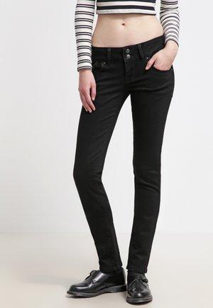 MOLLY - Jean slim - black