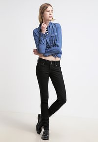 LTB - MOLLY - Slim fit jeans - black - 1