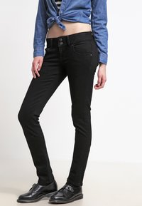 LTB - MOLLY - Slim fit jeans - black - 3