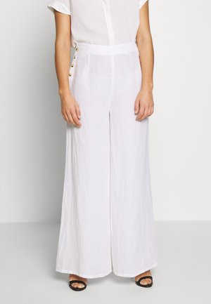 SONITE - Trousers - white