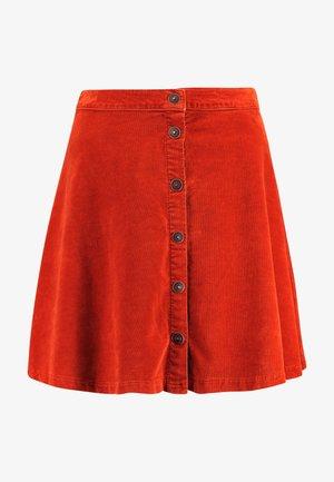 INEYA - A-line skirt - chestnut