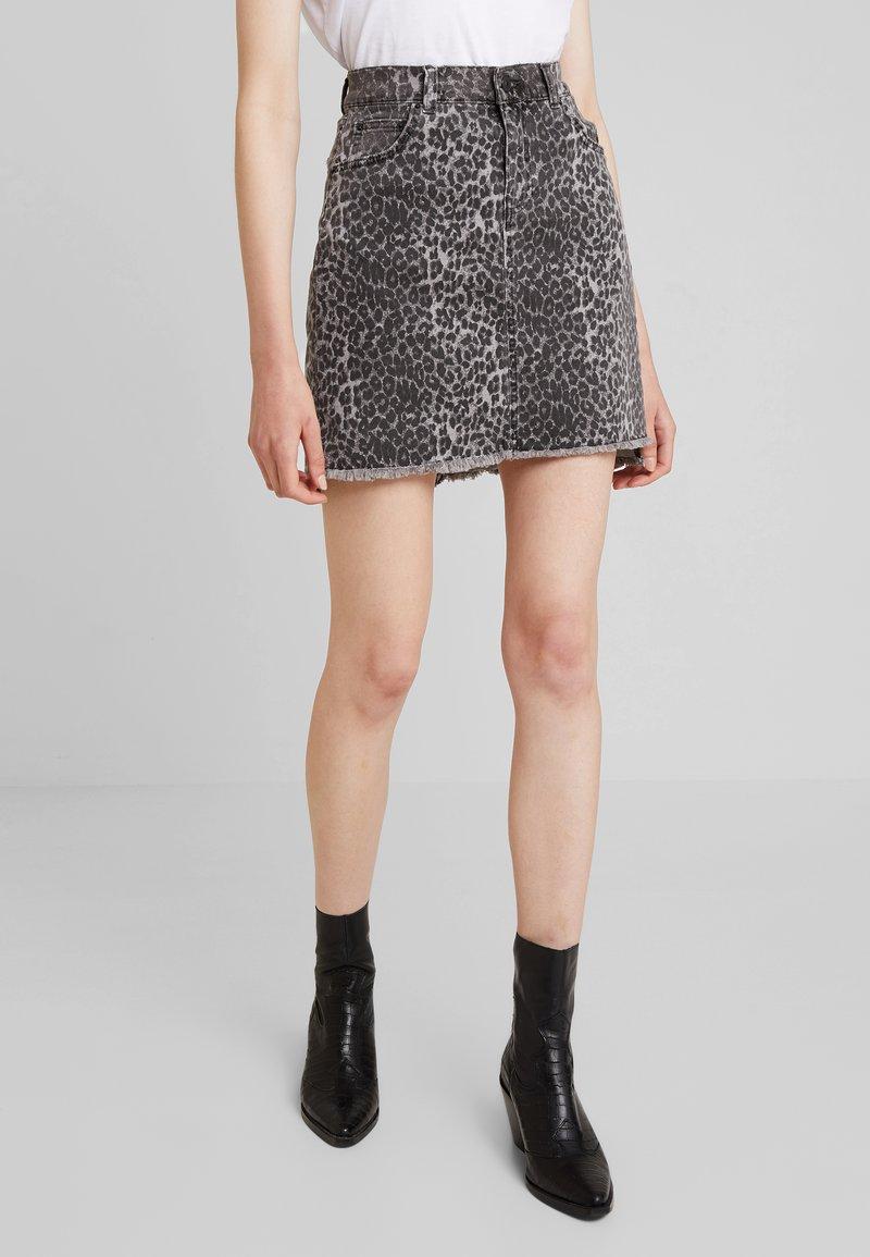 LTB - INNIE - Denim skirt - grey wash