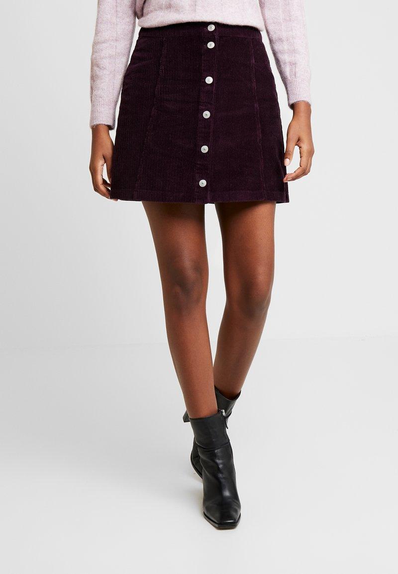 LTB - PIMERO - A-line skirt - bordeaux