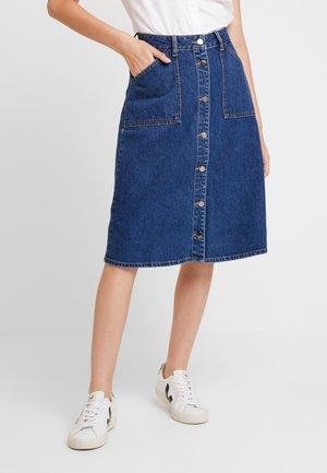 SKIRT - A-line skirt - stone wash