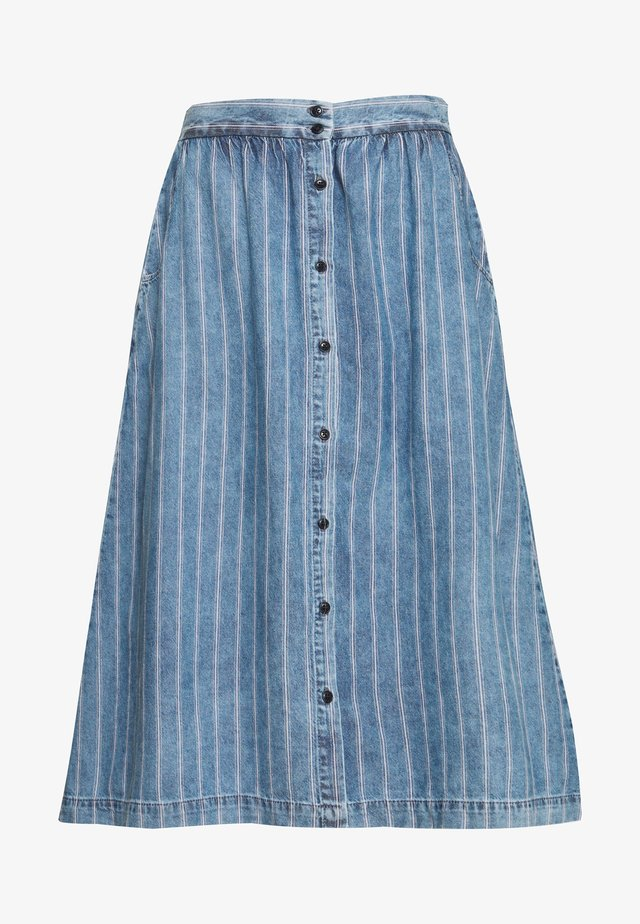 BELONIA - Długa spódnica - pinky wash