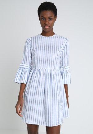 CIBETI DRESS - Vestito estivo - blue/white