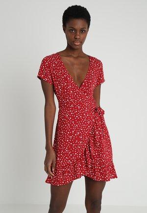 NAGEDA DRESS - Hverdagskjoler - red/white