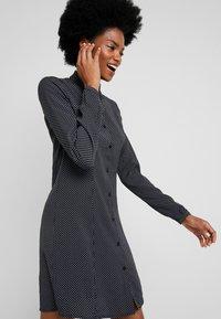 LTB - ZETIDO - Košilové šaty - black/white - 3