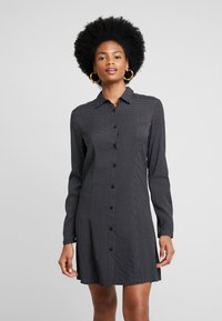 LTB - ZETIDO - Košilové šaty - black/white - 0