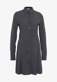 LTB - ZETIDO - Košilové šaty - black/white - 4
