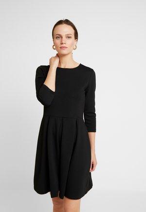 MIBOPE - Žerzejové šaty - black
