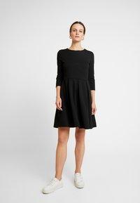 LTB - MIBOPE - Žerzejové šaty - black - 1