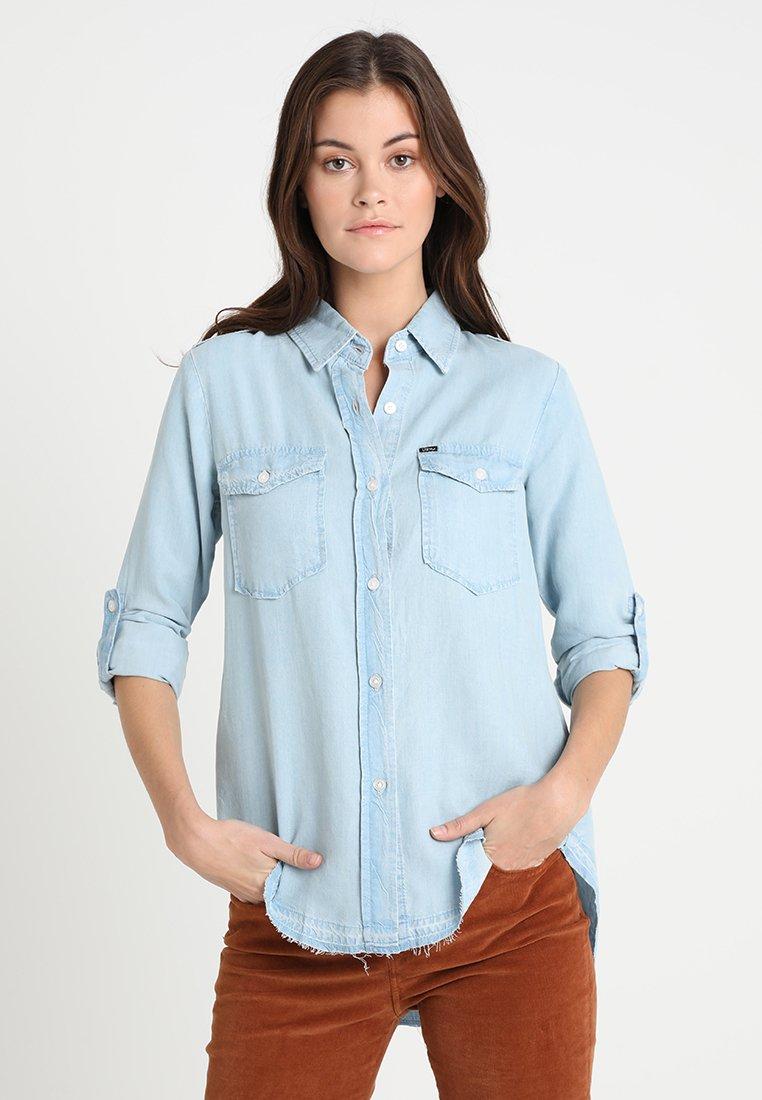 LTB - SIMELE - Button-down blouse - sweet bleach wash