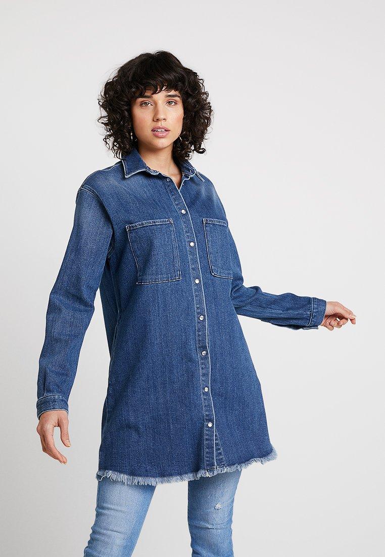 LTB - RACHEAL JACKET - Skjortebluser - blue denim
