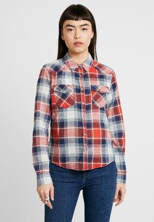 LUCINDA - Button-down blouse - coral