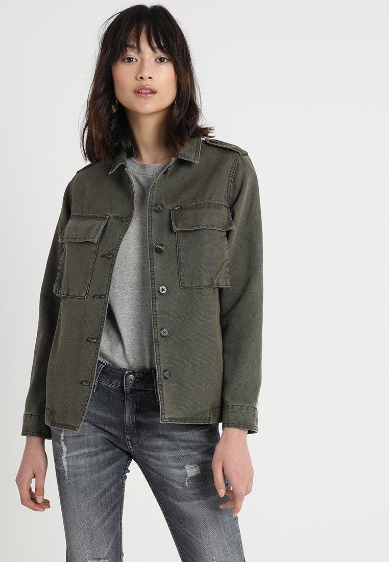 LTB - GAROKE JACKET - Summer jacket - olive