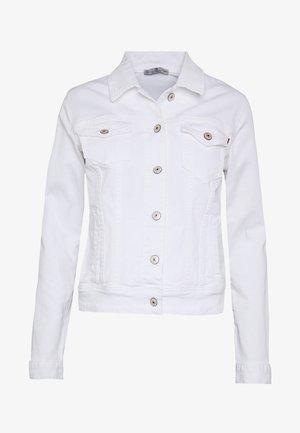 DEAN X - Jeansjakke - white