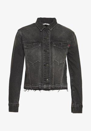 RENNA - Denim jacket - black