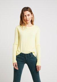 LTB - HOGIKES - Pullover - light lemon - 0