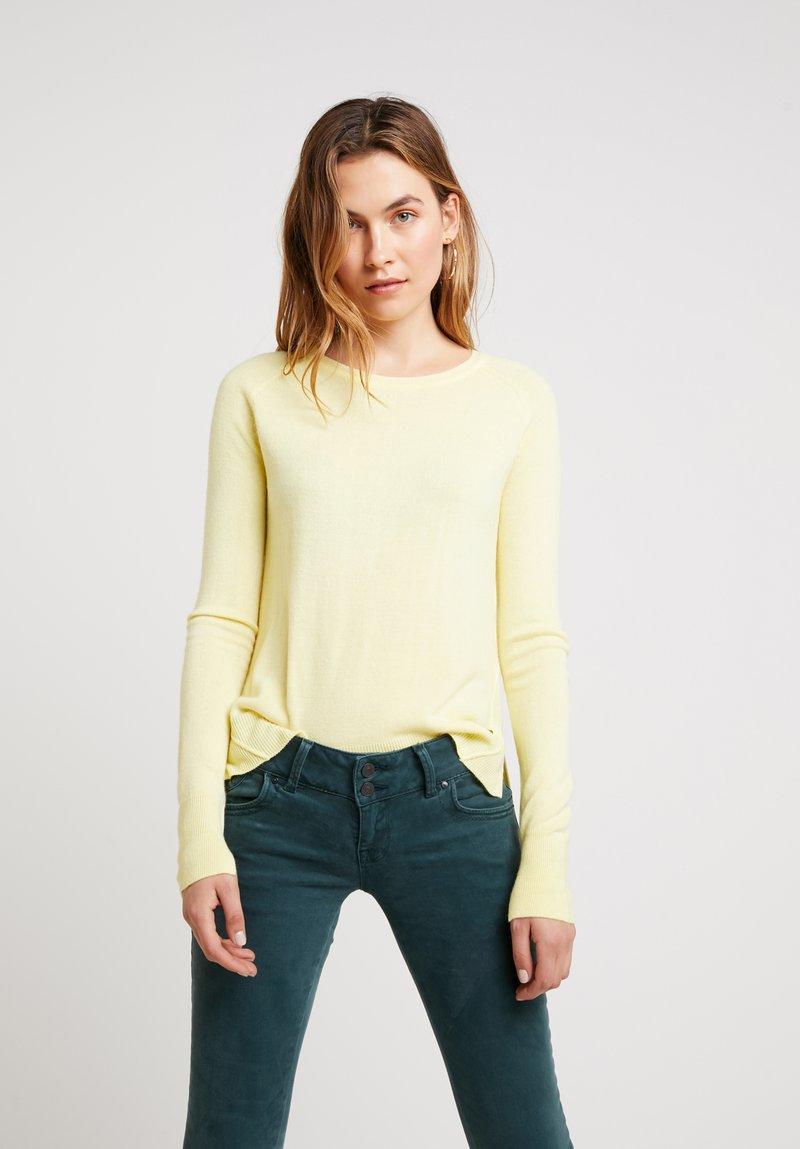 LTB - HOGIKES - Pullover - light lemon