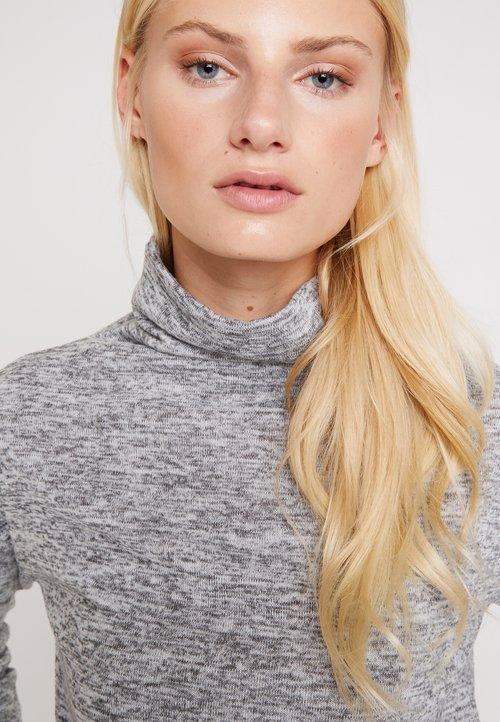 LTB LESEMO - Sweter - light grey melange Odzież Damska VHNR-PB8 ZMNIEJSZONE O 50%