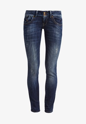 MOLLY - Jeans slim fit - oxford wash