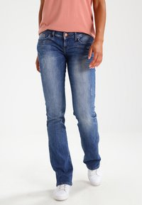 LTB - VALERIE - Bootcut jeans - ceciane wash - 0