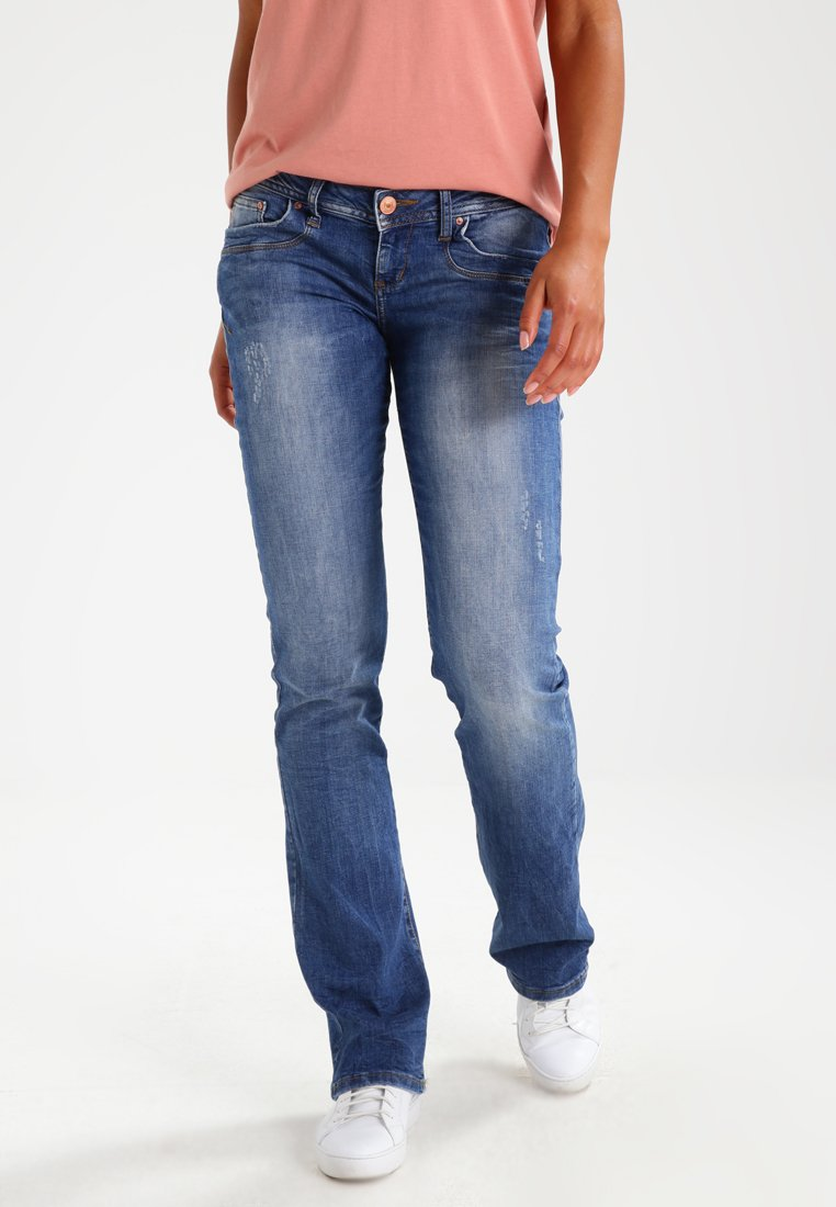 LTB - VALERIE - Bootcut jeans - ceciane wash