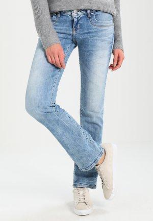 VALERIE - Jeans bootcut - stone blue denim