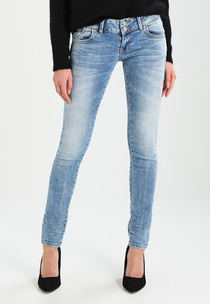 MOLLY - Slim fit jeans - stone blue Denim