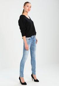 LTB - MOLLY - Slim fit jeans - stone blue Denim - 2