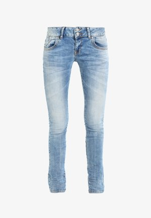 MOLLY - Jeansy Slim Fit - stone blue Denim