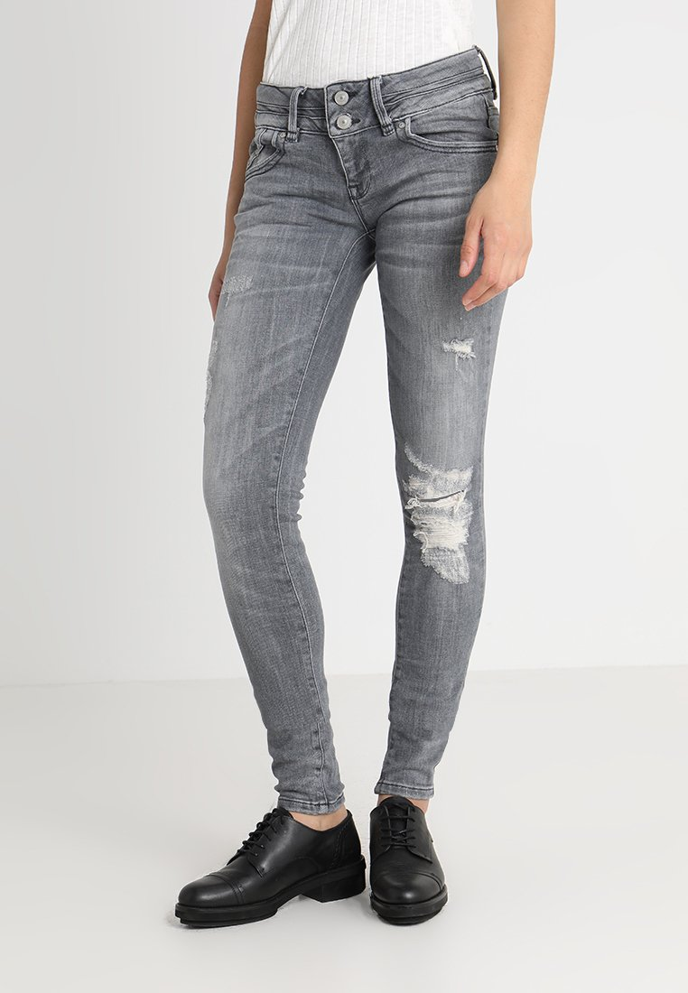 LTB - JULITA  - Jeans Skinny Fit - grey denim
