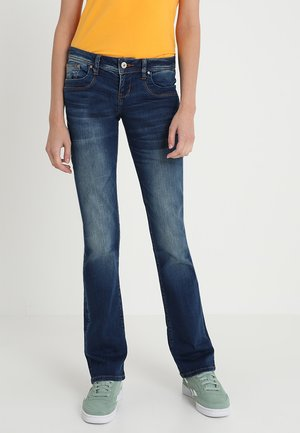 VALERIE - Bootcut jeans - heal wash