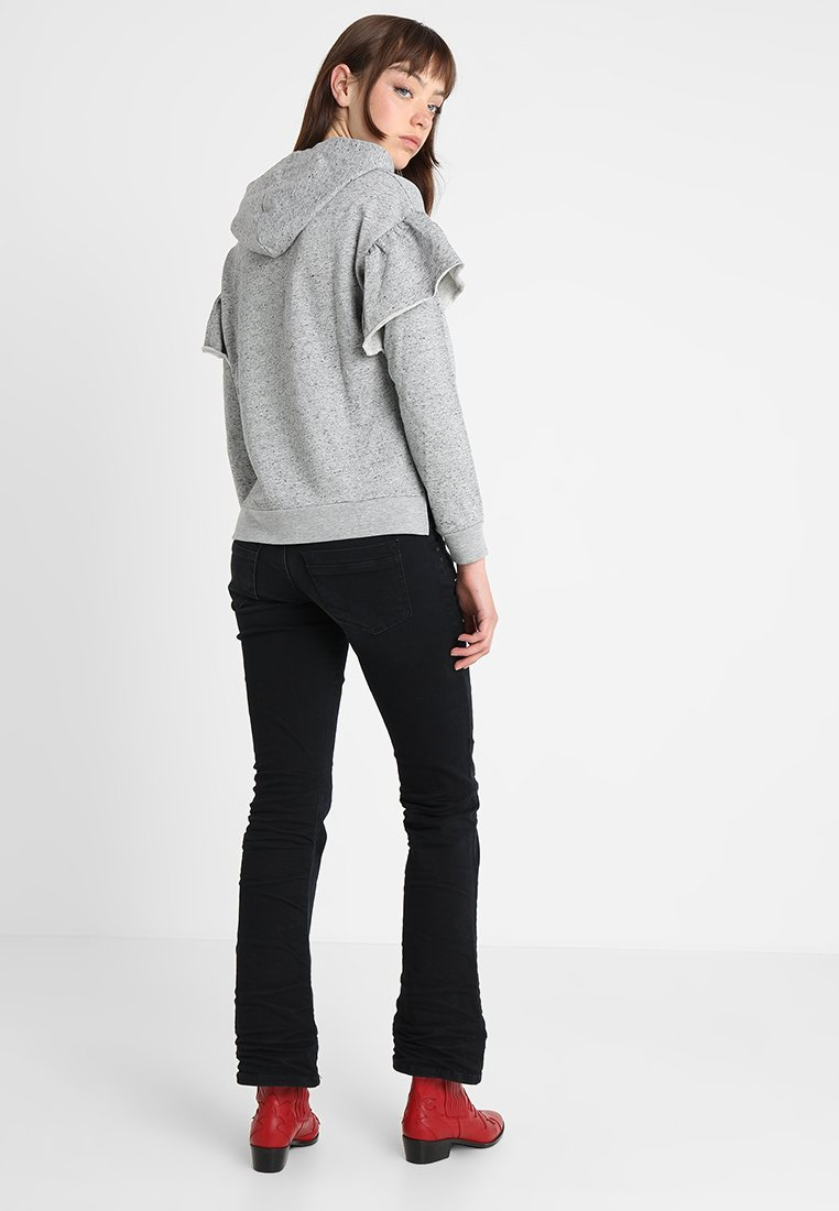 LTB VALERIE - Jeansy Bootcut - camenta wash