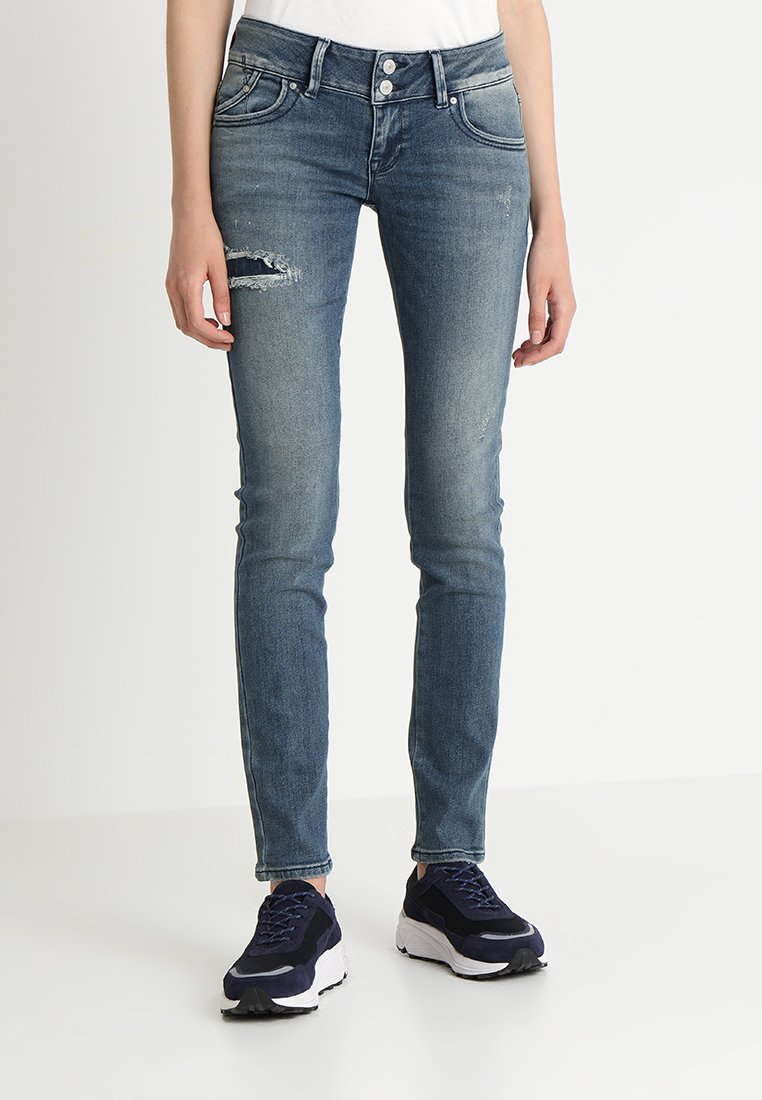 LTB - MOLLY - Jeans Slim Fit - destroyed denim
