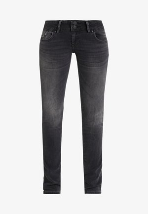 MOLLY - Jean slim - dark-blue denim