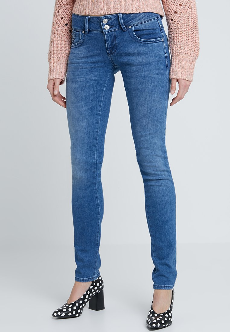 LTB - MOLLY - Slim fit jeans - blue denim