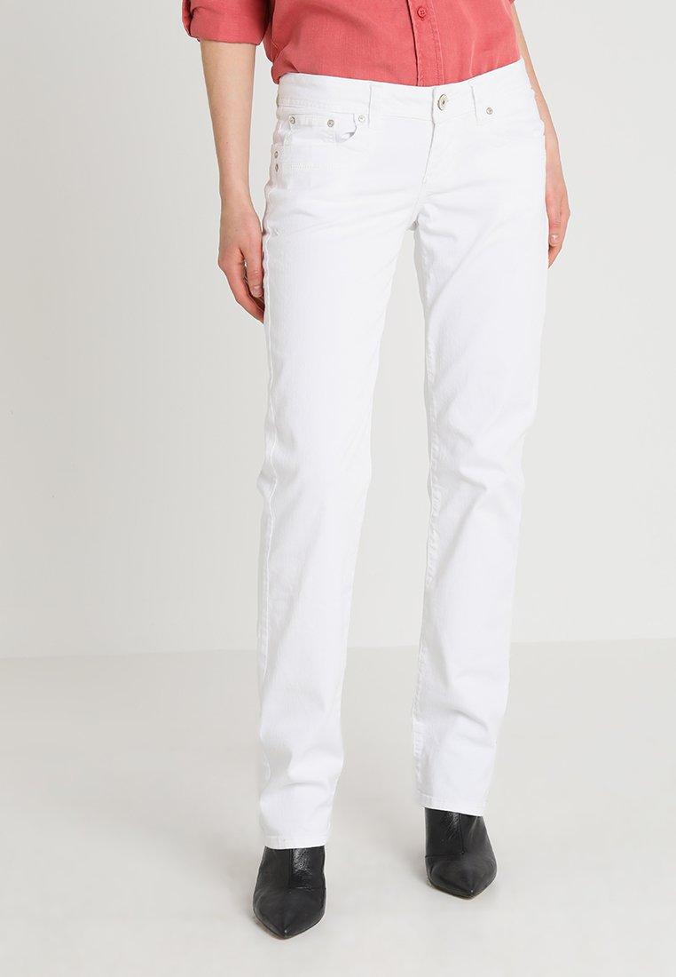 LTB - VALENTINE - Straight leg jeans - white