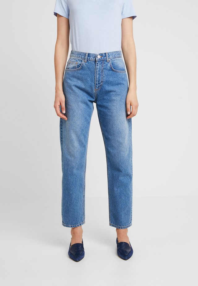 MILVA - Jeans Straight Leg - lenollo wash