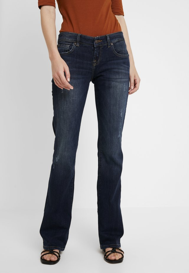 ROXY - Flared jeans - oxford wash