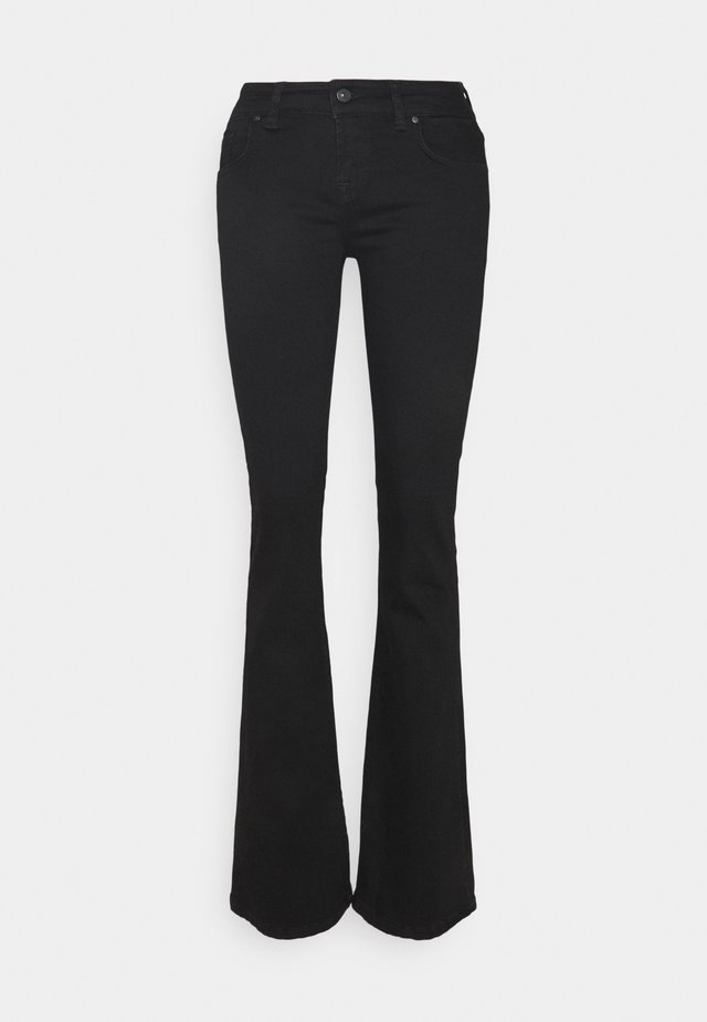 ROXY - Flared jeans - black to black