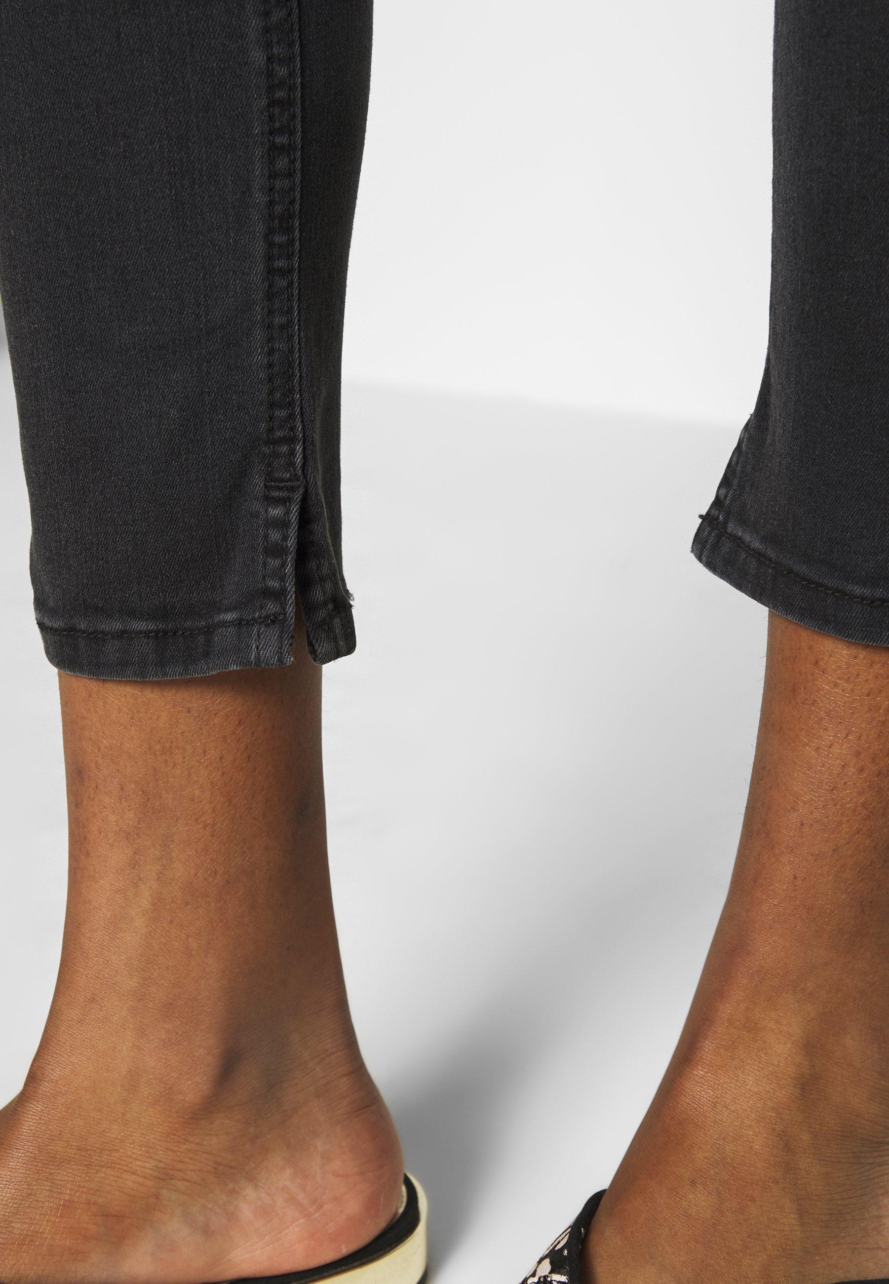 LTB CANDELA - Jeansy Skinny Fit - black denim