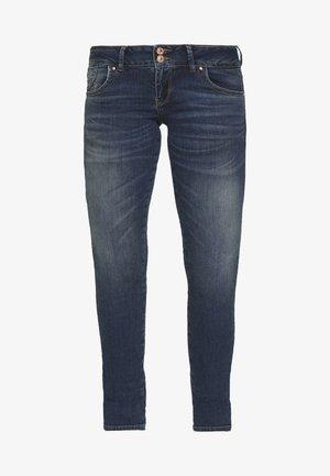 MOLLY - Slim fit jeans - dark blue denim