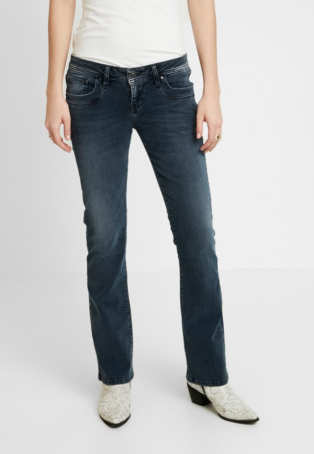 VALERIE - Bootcut jeans - wash