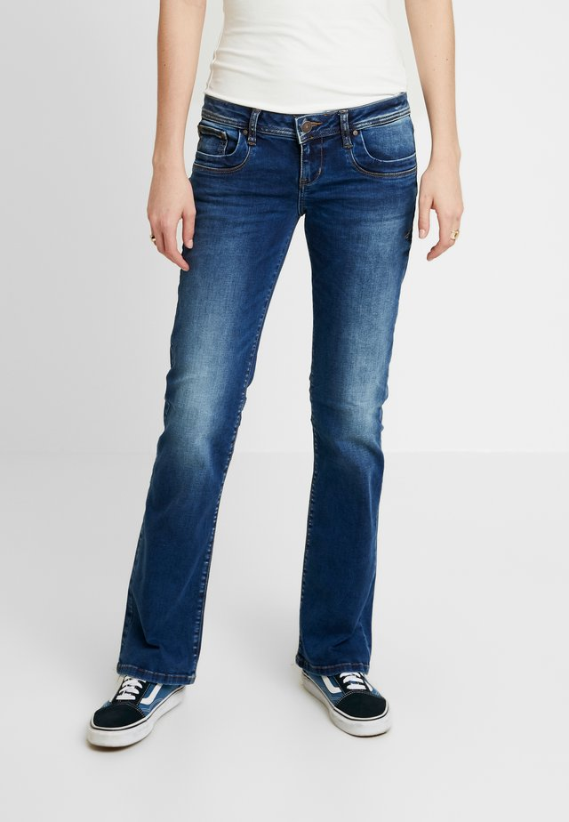 VALERIE - Bootcut jeans - ikeda wash