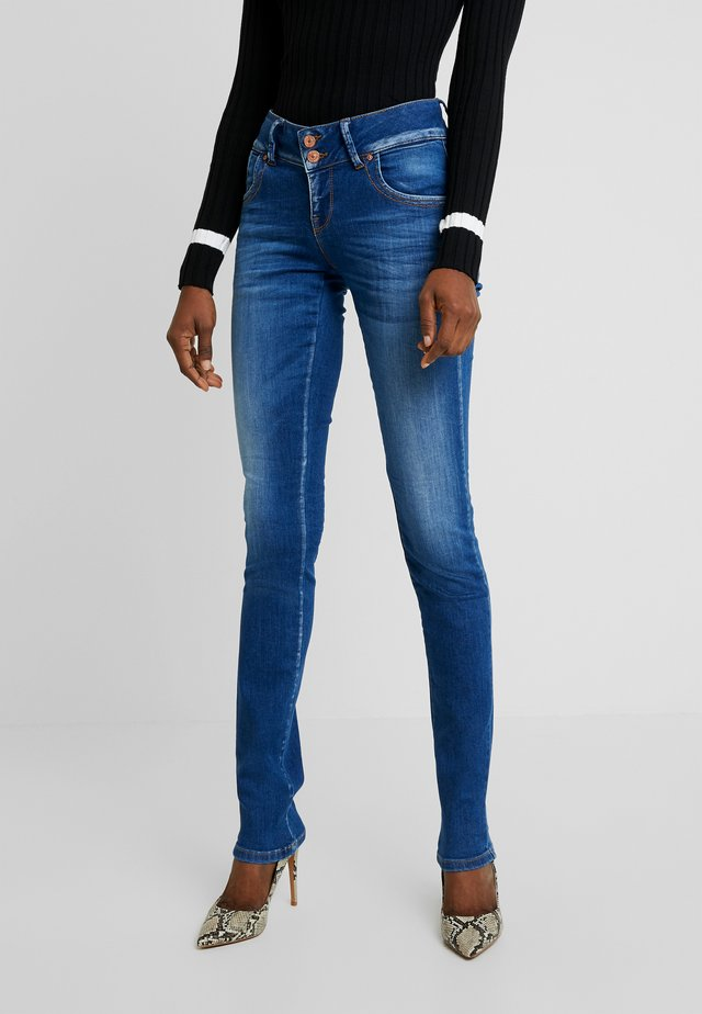 MOLLY - Jeans Slim Fit - espina wash