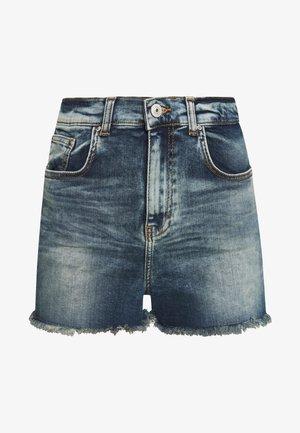 LAYLA - Szorty jeansowe - field wash